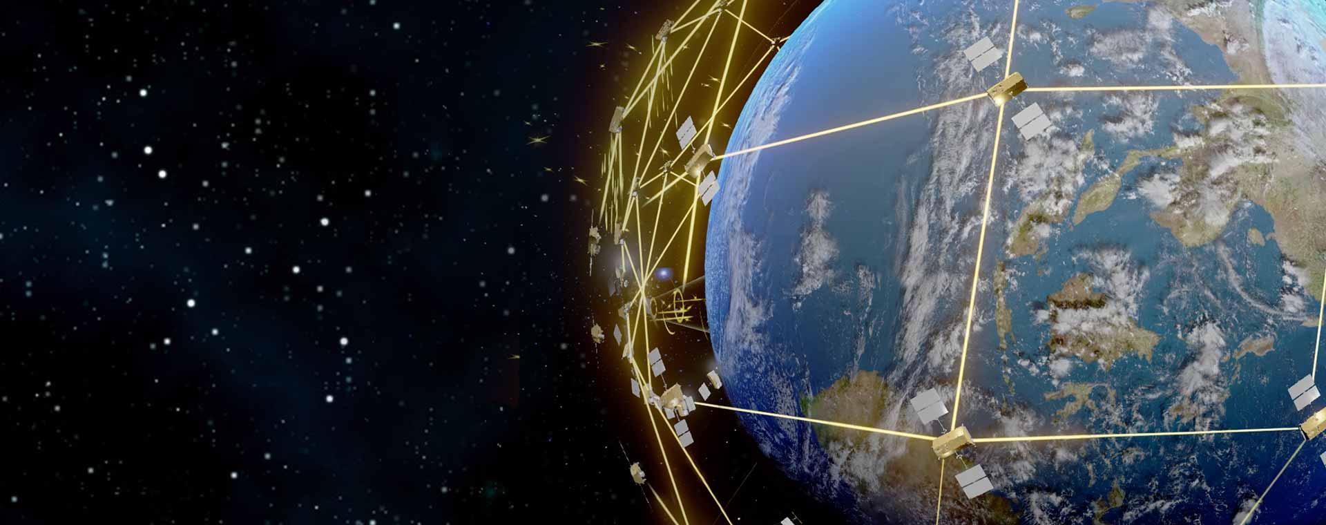 BGAN world coverage map